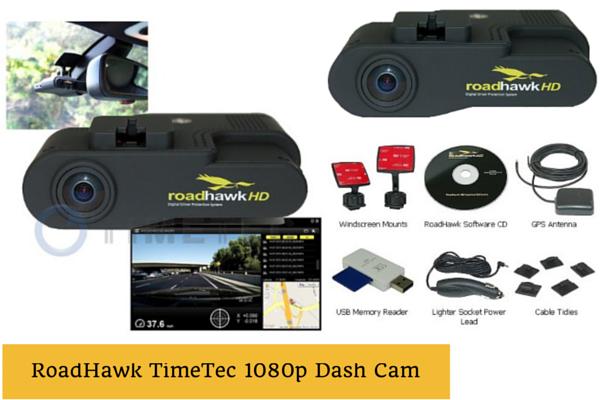 Timetec Road Hawk 1080p Dash Cam