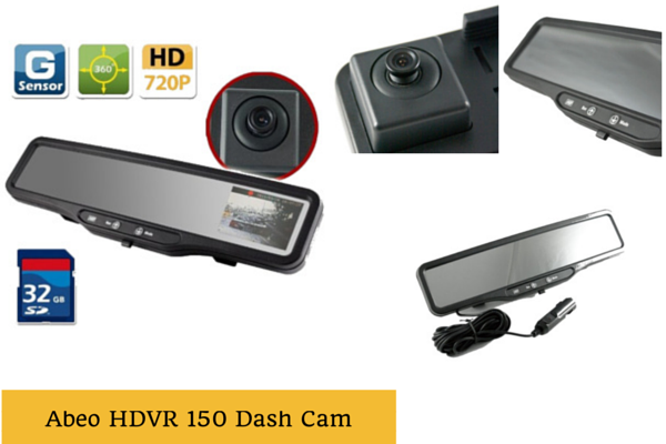 Abeo HDVR-150 Rear View Mirror Camera