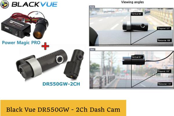 BlackVue DR550GW 2CH Dash Cam