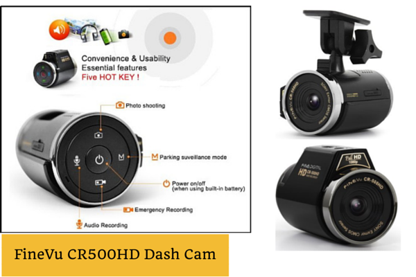 FineVu CR500HD Dash Cam