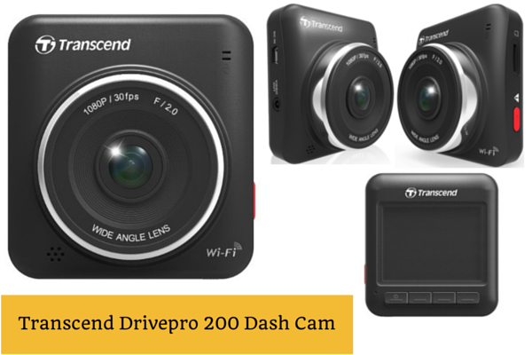 Transcend DrivePro 200 Dashboard Camera