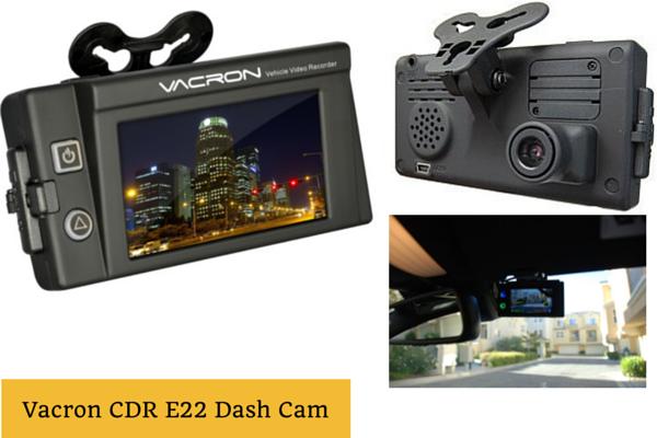 Vacron CDR E 22 Dash Cam