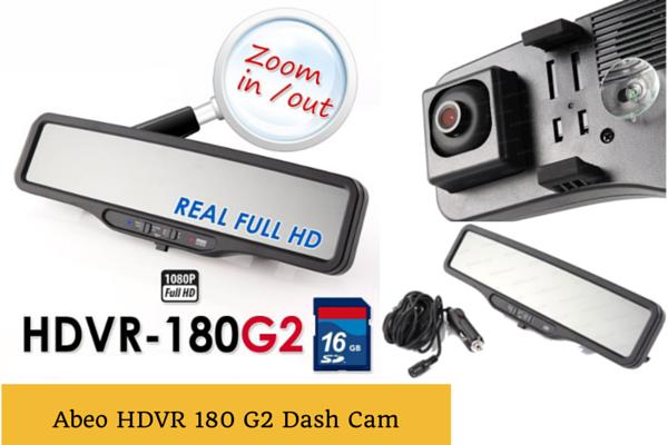 ABEO HDVR 180 G2 Car Camcorder