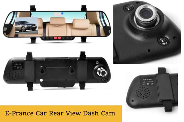 E-Prance Car Rear View Dash Cam
