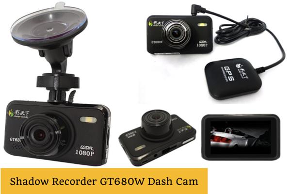 Shadow GT680W Dash Cam