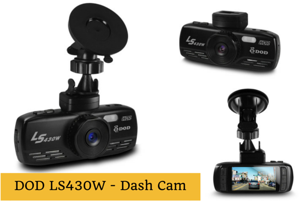 DOD LS430W Dashboard Camera