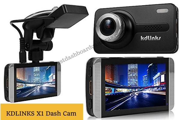 KDLINKS X1 Dashboard Camera