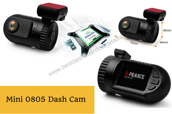 Mini 0805 Dash Cam
