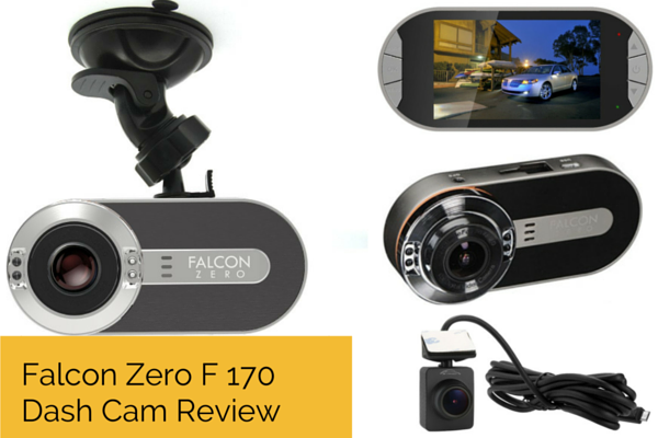 Falcon Zero F170 Car DVR REVIEW