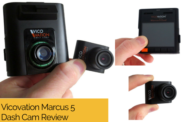 Vico Marcus 5 VICOVATION Dash Cam Review